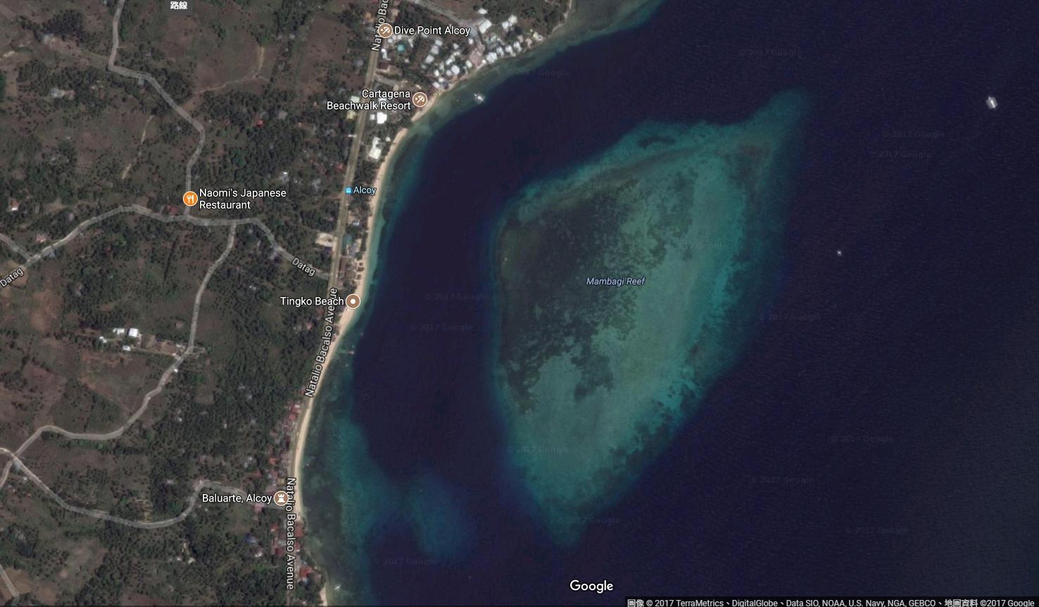 Mambagi Reef