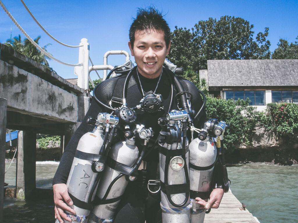 蔡詩偉潛水教練