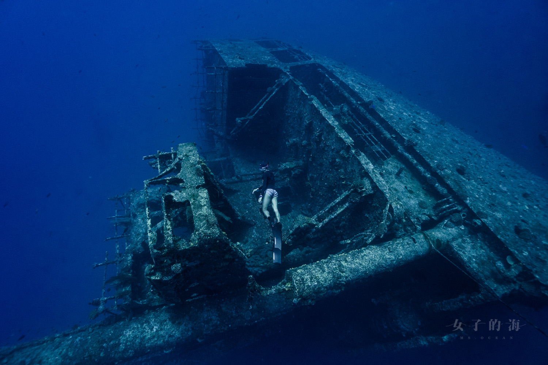 八代灣沉船自由潛水