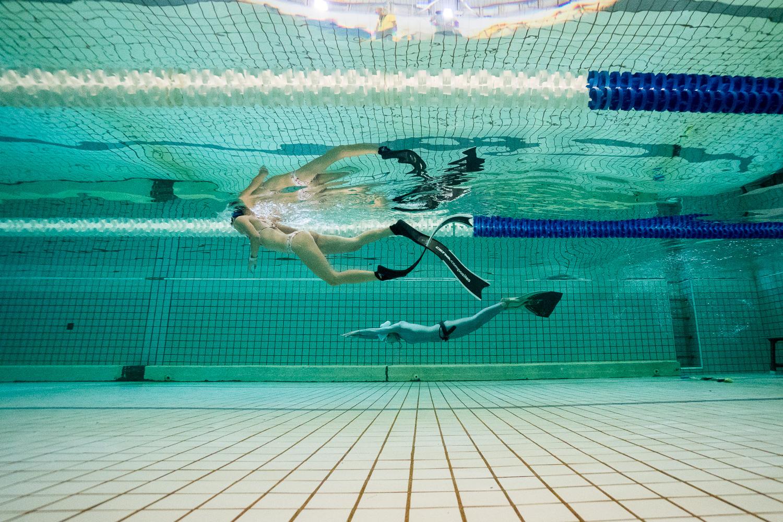 自由潛水室內賽