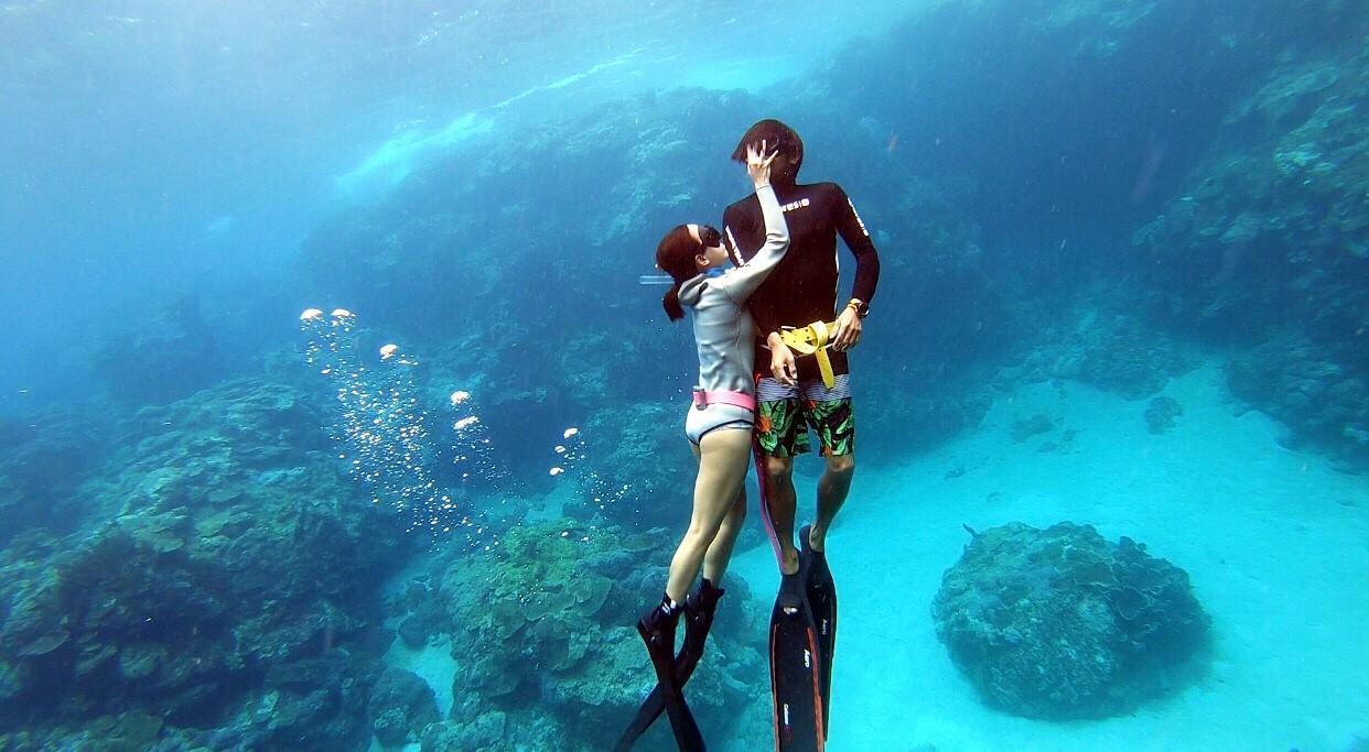 Lanyu freediving