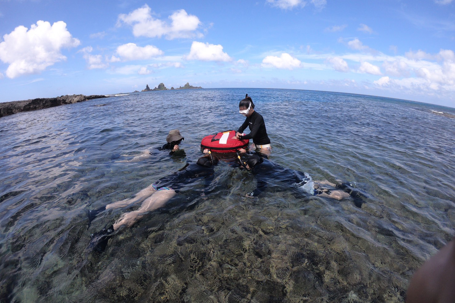 freediving in Orchid Island