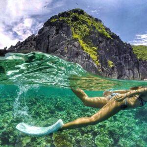 愛妮島自由潛水
