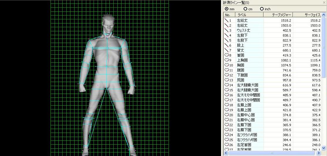 3D人體掃描機
