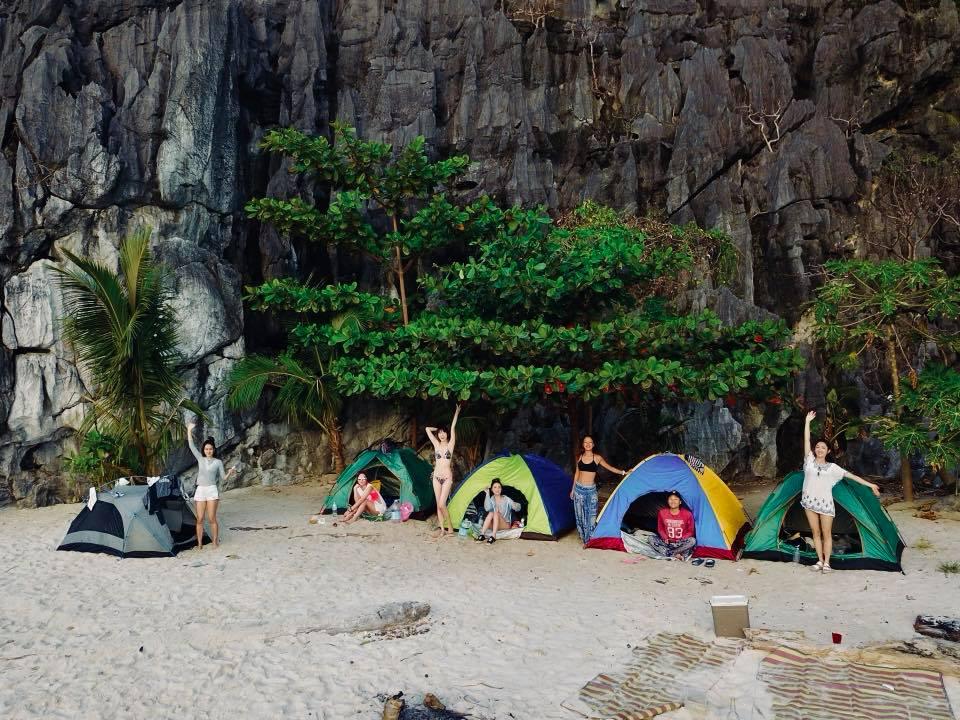 愛妮島無人島露營