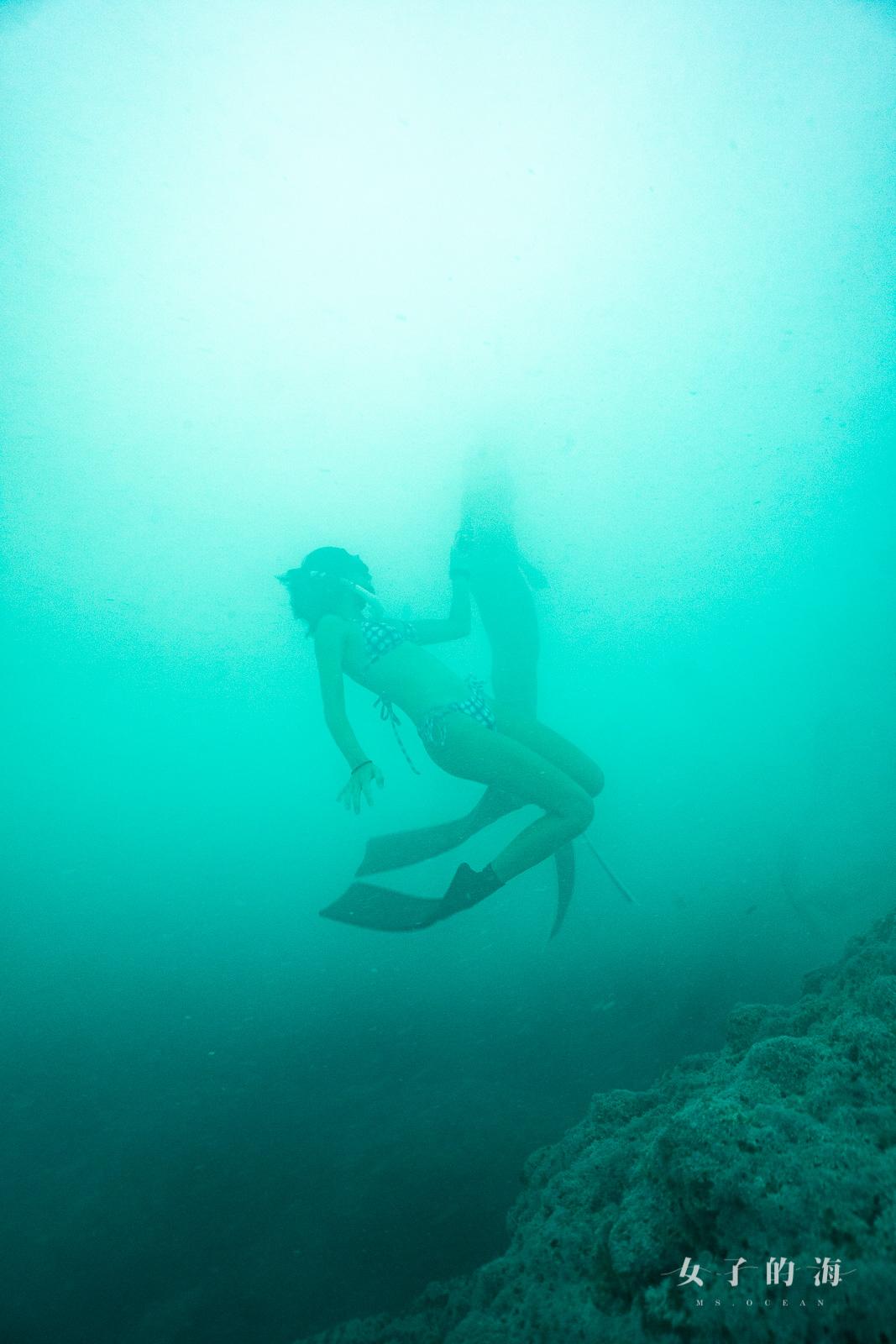 海底溫泉潛水