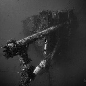 八代灣沉船自潛
