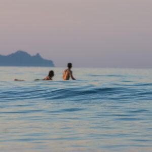 自由潛水遇上衝浪
